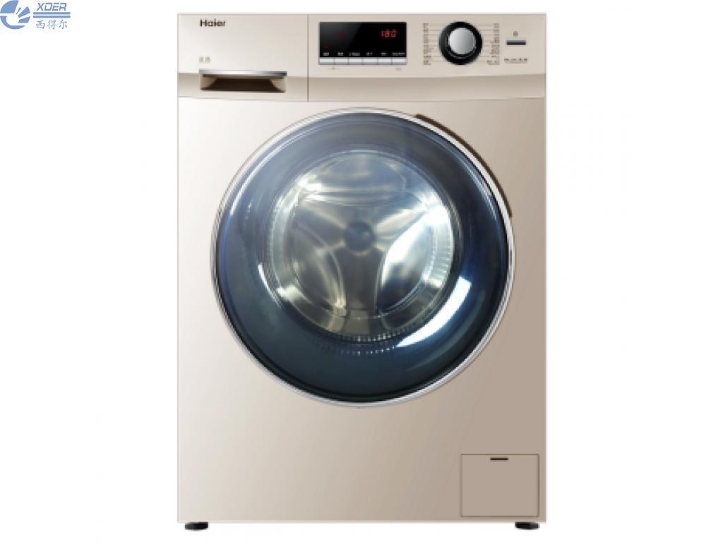 G100629HBX14G海尔全自动金色滚筒洗衣机